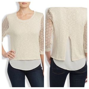 Lucky Brand Cinema Sweater Size L